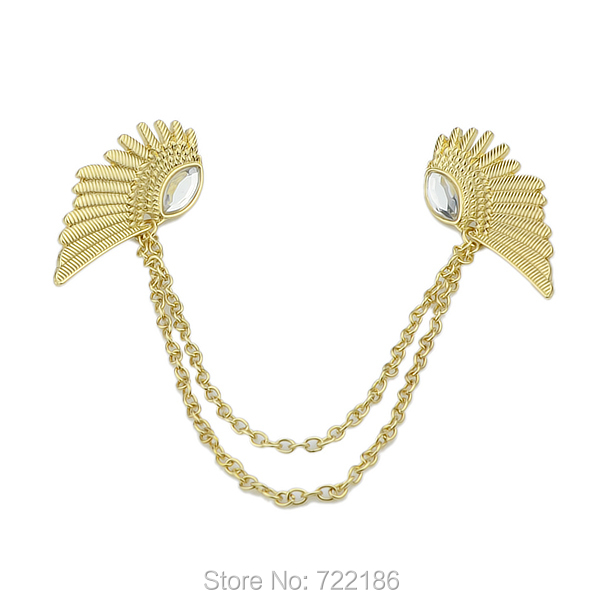 2014 Hot Selling Vintage Wing Design Alloy False Collar Necklace For Women Fashion Jewelry(China (Mainland))