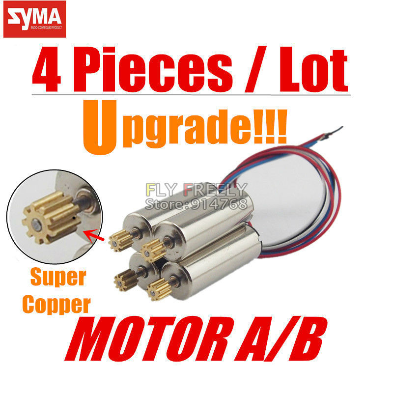 SYMA X5C/X5 Spare Part Copper Motor Engine B Motors Wheel Gear RC Quadcopter Helicopter Drone Accessories - Shantou Fly Freely Industry Co.,Ltd. store