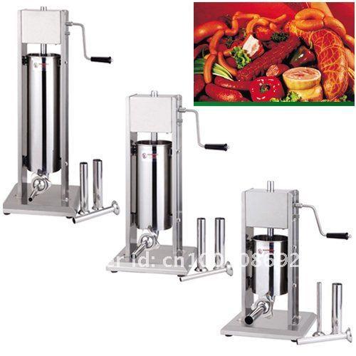 vertical stainless steel sausage stuffer 3L, sausage filler 3L,sausage maker