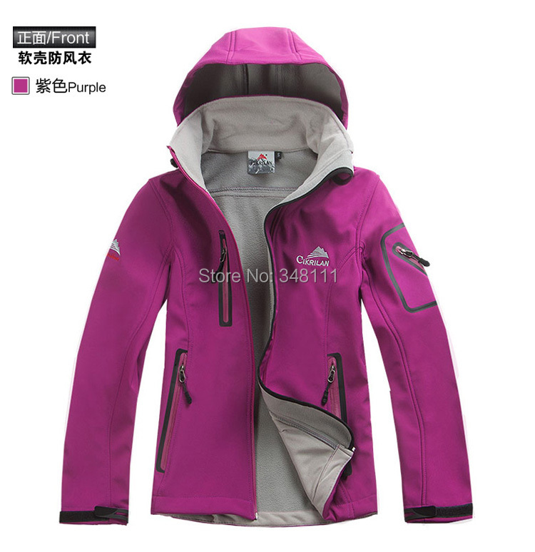 Women soft shell jacket waterproof windproof casual fashion clothes - Integrity of outdoor shop store
