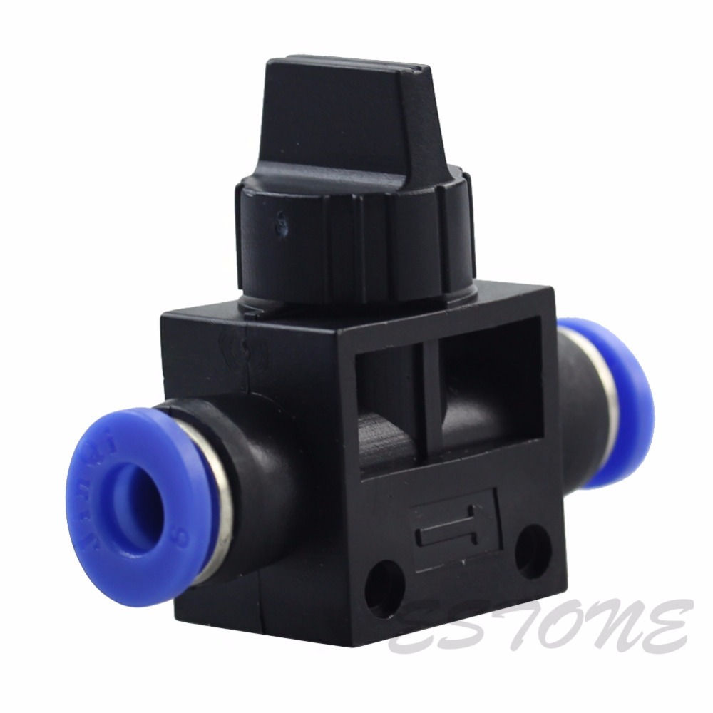 6mm Pneumatic Ball Valve Push In Fittings Connectors for Air/Water Hose Tube 1PC<br><br>Aliexpress