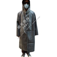 Wholesales—Rubber raincoat with sleeves one piece vintage poncho thickening canvas Burberry old fashioned rubber rain gear