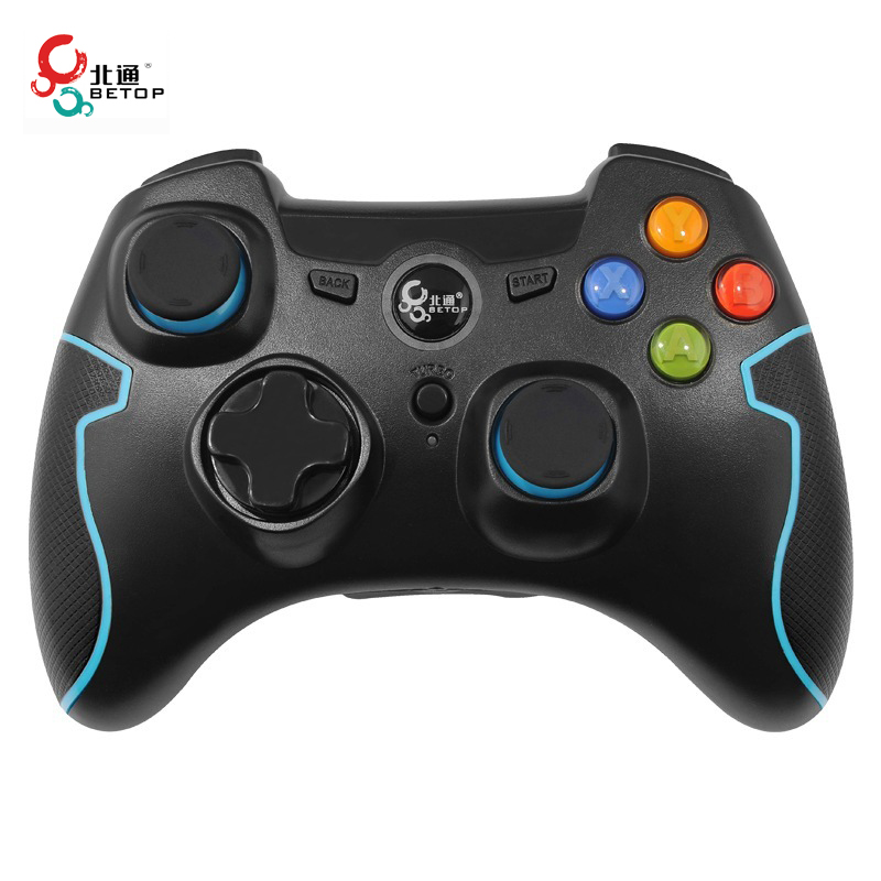 Betop BTP-2282 Wireless Smart Game Controller Backlight Button Control For PC for PS3 For Andriod Gamepad(China (Mainland))