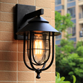 Indoor Outdoor rainproof wall lamps garden porch building aisle front door stair cafe warehuse living room