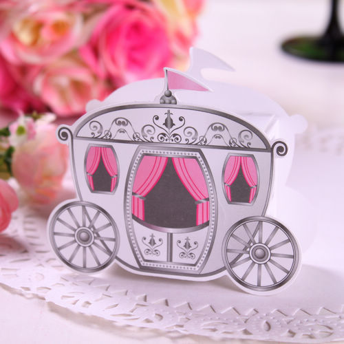 10Carriage Favor Box favour Wedding box pumpkin Carriage wedding - A Special Day store