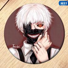 1 pz Anime Del Giappone Tokyo Ghoul Album Spilla Spille Accessori Distintivo Per I Vestiti Cappello Zaino Decorazione Degli Uomini Delle Donne Della Ragazza del Ragazzo regali(China)