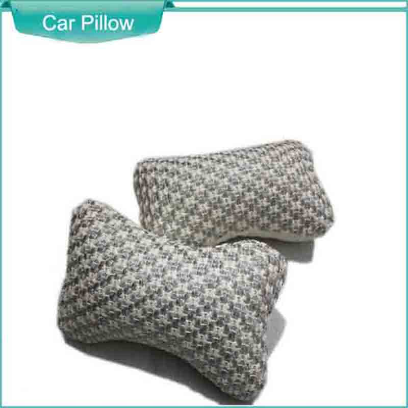 Machine Ice Silk Car Neck Pillow 2 Pics Summer Cooling Sold At A Pair Automobile Headrest Easing The Pain Of The Head(China (Mainland))