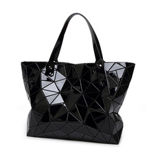 Fashion Diamond Summer bag large Quilted ladies Handbag bag female Geometric tote Laser woman shoulder bags designers brand(China (Mainland))
