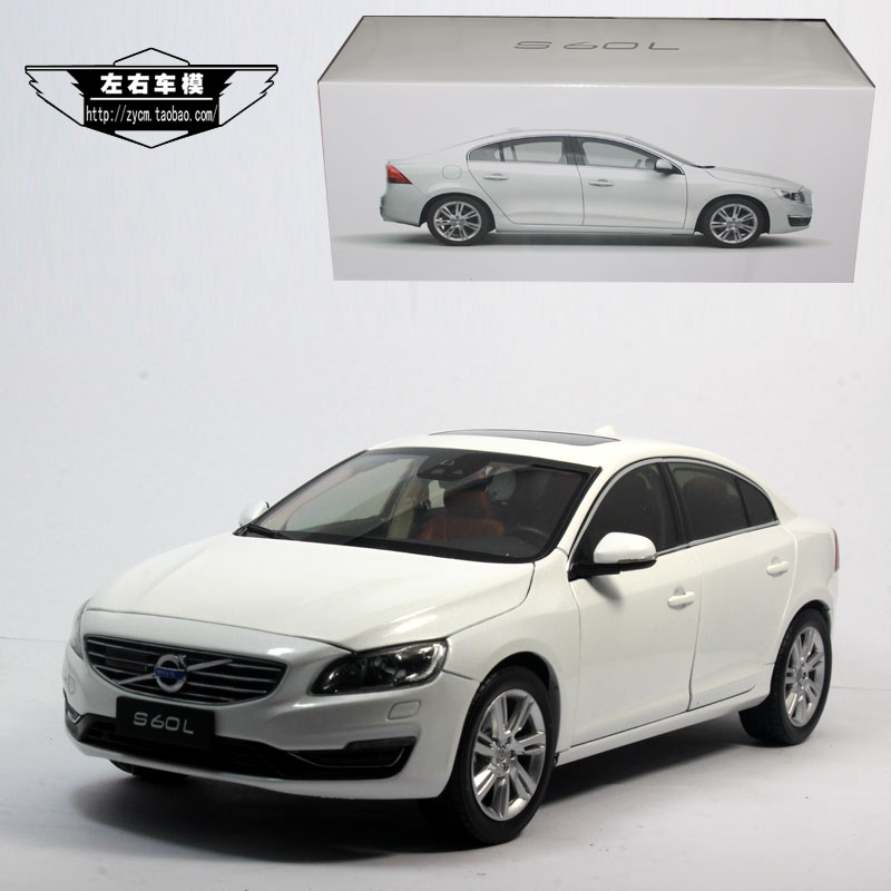 Brand New 1/18 Scale Sweden VOLVO S60L Diecast Metal Car Model Toy For Collection/Gift/Decoration(China (Mainland))