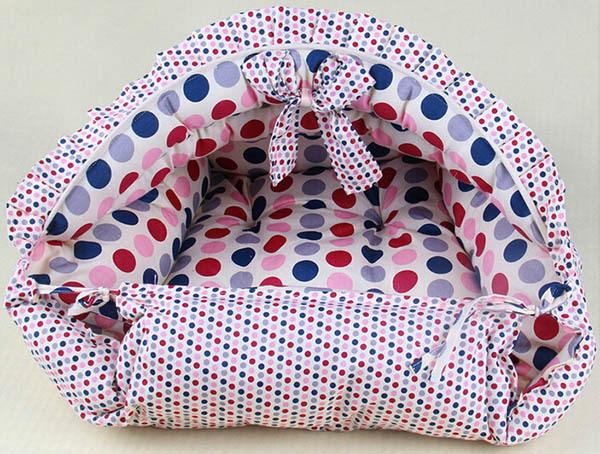1 шт кота собаки любимчика симпатичные мода точка поставок дом doggy теплые мягкие питомники щенок гнездо