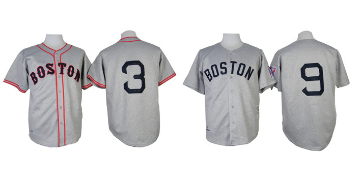 Free Shipping Boston Red Sox Baseball Jerseys 3 Jimmie Foxx 9 Ted Williams 100% Stitched Sport Throwback Shirt Wholesale(China (Mainland))