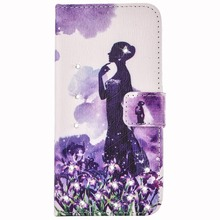 Elegant Wedding Dresses High Heels Case for Huawei Ascend P8 Lite PU Leather Wallet Cover Butterfly Girls Flip Protective Shell(China (Mainland))