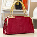 LADY FLOW New arrive women leather handbag fashion stone pattern shoulder bags Bride Europe style women
