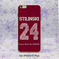 Teen Wolf Stilinski Pattern hard White Skin Case Cover for iPhone 4 4s 4g 5 5s