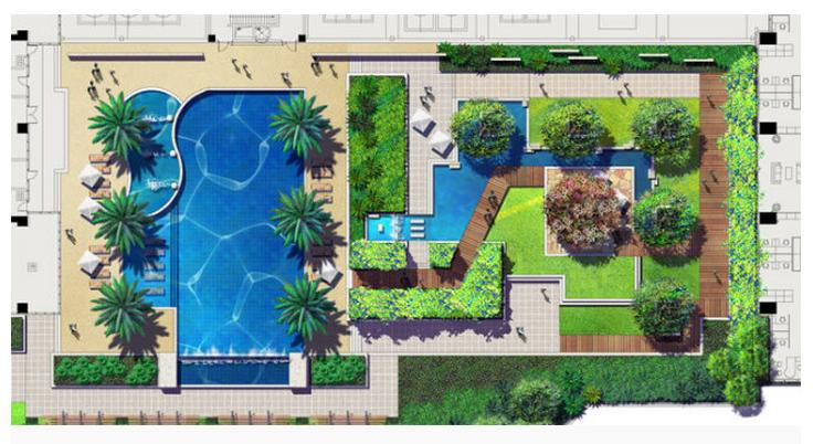 Online get cheap roof garden design for Garden floor design
