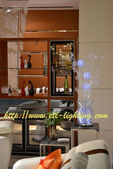 2011 New Style Battery Operated LED Aluminum Table Lamp Freight Free By EMS