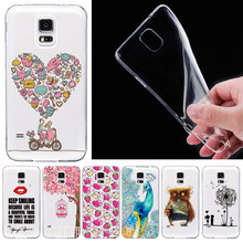 Fashion Soft Silicone Mobile Phone Cases For Samsung Galaxy S4 I9500 Case Cover Accessories With Black And White Pattern