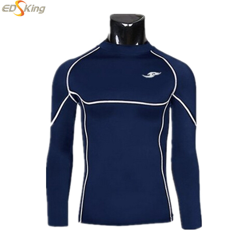 2015 Mens T-Shirt Long Sleeve Fitness Skate Compression Brand Clothing Male Homme Fun Sportswear Camisetas Hombre Moletom(China (Mainland))