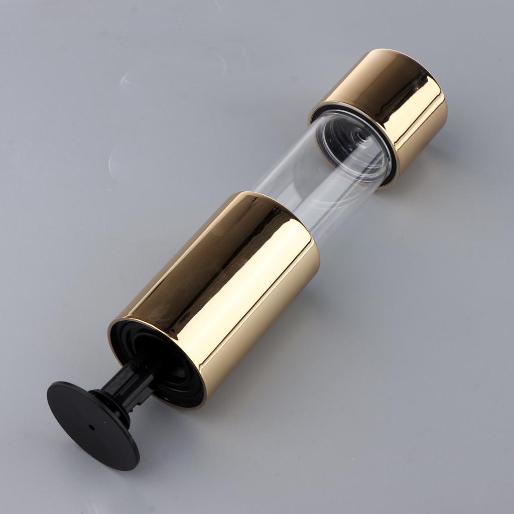 Golden Upscale Empty Foundation BB CC Cream Air Cushion Make-up Powder Tube Makeup Powder Case Container Pen