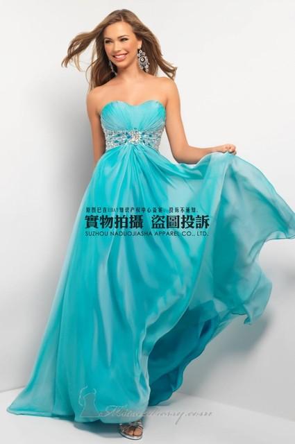 Элегантный почетным дамы off-the-плечи длиной до пола платья три цвета желтый синий ...
