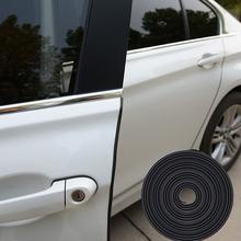 8 Meter U Type 3M Rubber Seal Adhesive Universal Car Doors Weatherstrip Seal Automotive Sound Insulation Car Rubber Strips(China (Mainland))