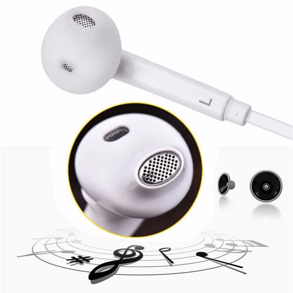 2016 3.5mm In-Ear Earbud Mic Stereo Earphone Headphone For Sam S6 in ear earphones universal earphone hedset ANG