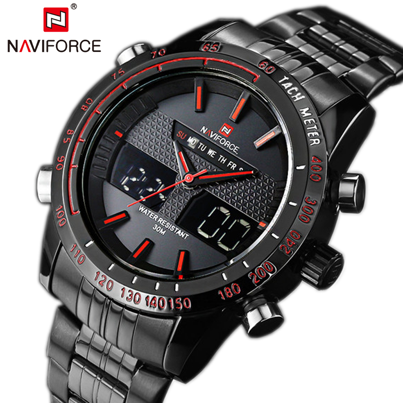 2016 relojes hombre naviforce 9024 digital sport watches