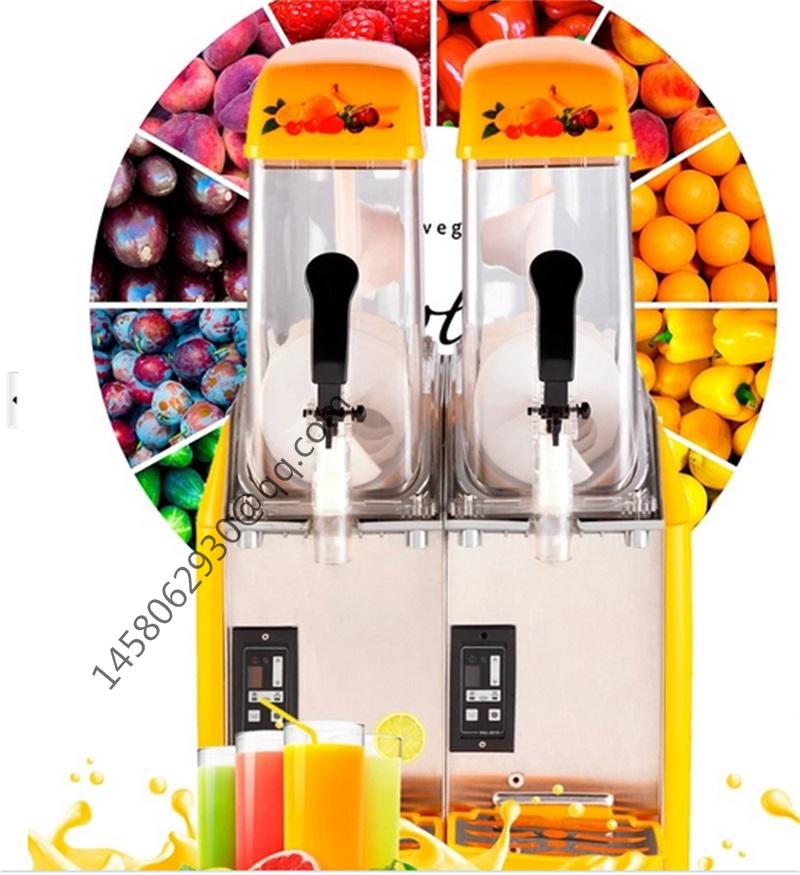 Cheap Good Double Tank Used Slush Machine Margarita Slush Frozen Drink Machines<br>