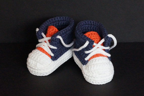 Knitting Pattern For Baby Tennis Shoes : Popular Crochet Baby Sneakers-Buy Cheap Crochet Baby Sneakers lots from China...