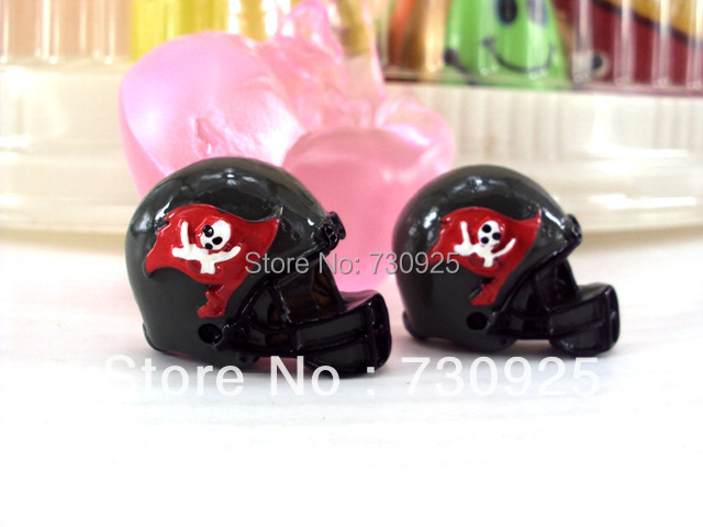 5Y6809 30*22*5mm resin flatback hairbows free shipping black color(China (Mainland))