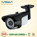 New Super 3MP 1920P AHD Camera Security CCTV Metal Black Bullet Video Surveillance Outdoor Waterproof 36