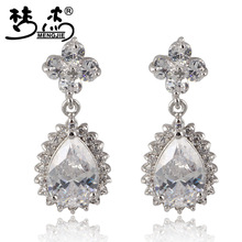 Brincos Brincos Ouro Meng Jie Fashion Magnificent Banquet Essential Earrings Female High-grade Glittering Earring Eight Arrows (China (Mainland))