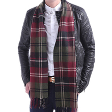 HOT SALE!! New 15 Colors!! Cashmere Men's tassel British winter scarves and autumn scarf men with colorful plaid, SC2038, Soft(China (Mainland))