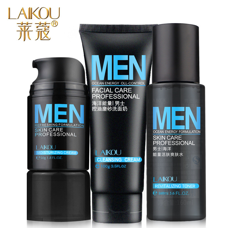 how to keep face clean for men