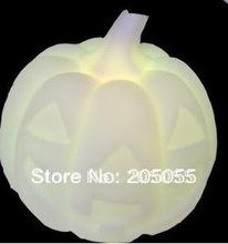 Changing 7 Color LED LOVE Pumpkin Night Light Colorful Pumpkin LED Nightlight Lamp Color Changeable(China (Mainland))