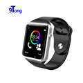 2016 New Wristwatch Sport Bluetooth Smart Watches Wearable Devices For Android Phone With Camera Support SIM