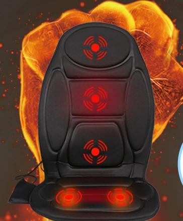 Car massager massage cushion household heating massage cushion lumbar back chair cushion quality goods vehicle heating(China (Mainland))