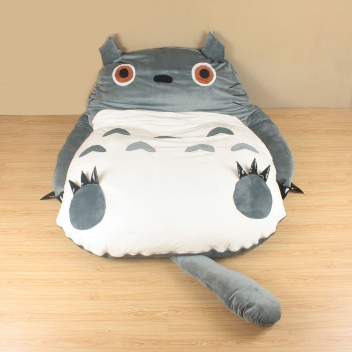 Pro wonderful My Neighbor Totoro bed kids toys Totoro Double bed Cushion Bed sleeping bag sofa ...