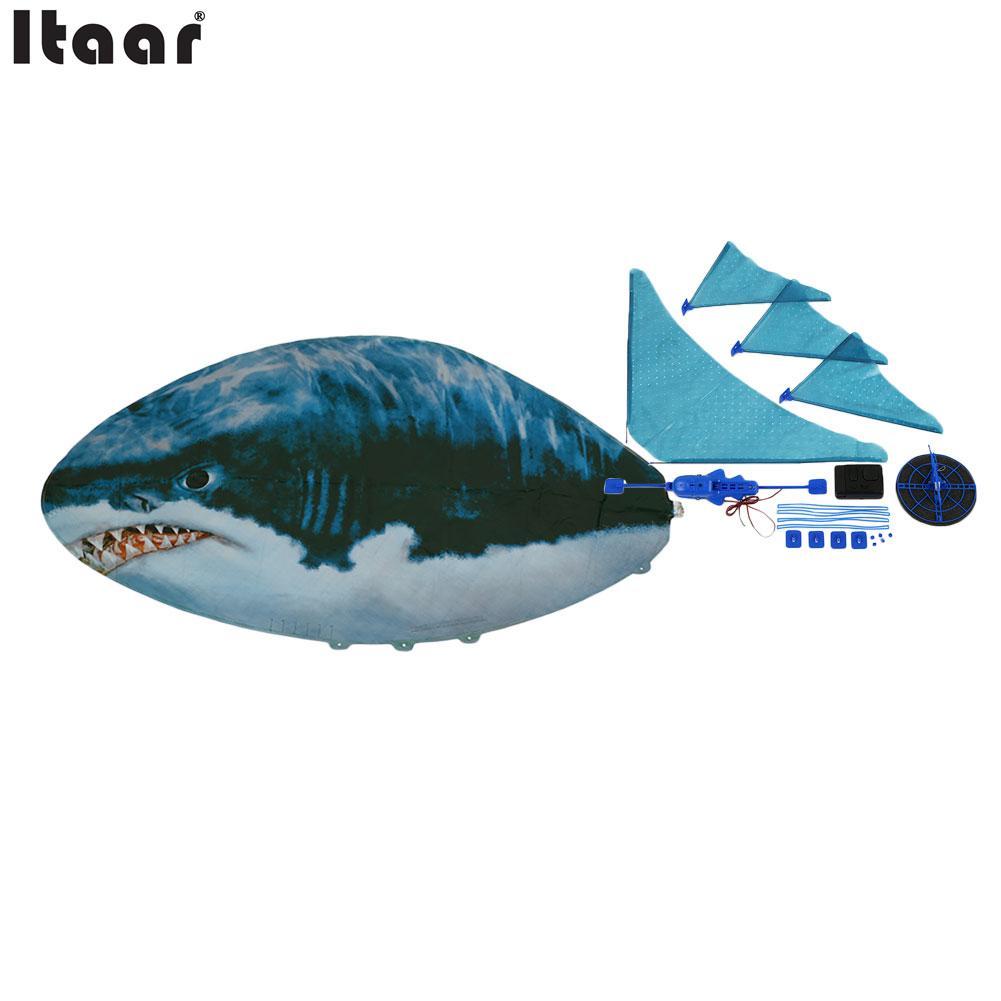 Remote control flying fish rc plastic inflatable blimp for Remote control flying fish