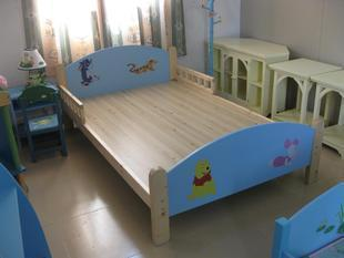 Children's bed 10 m wood bed rails bed child beds and baby cots wooden furniture foreign trade alone(China (Mainland))