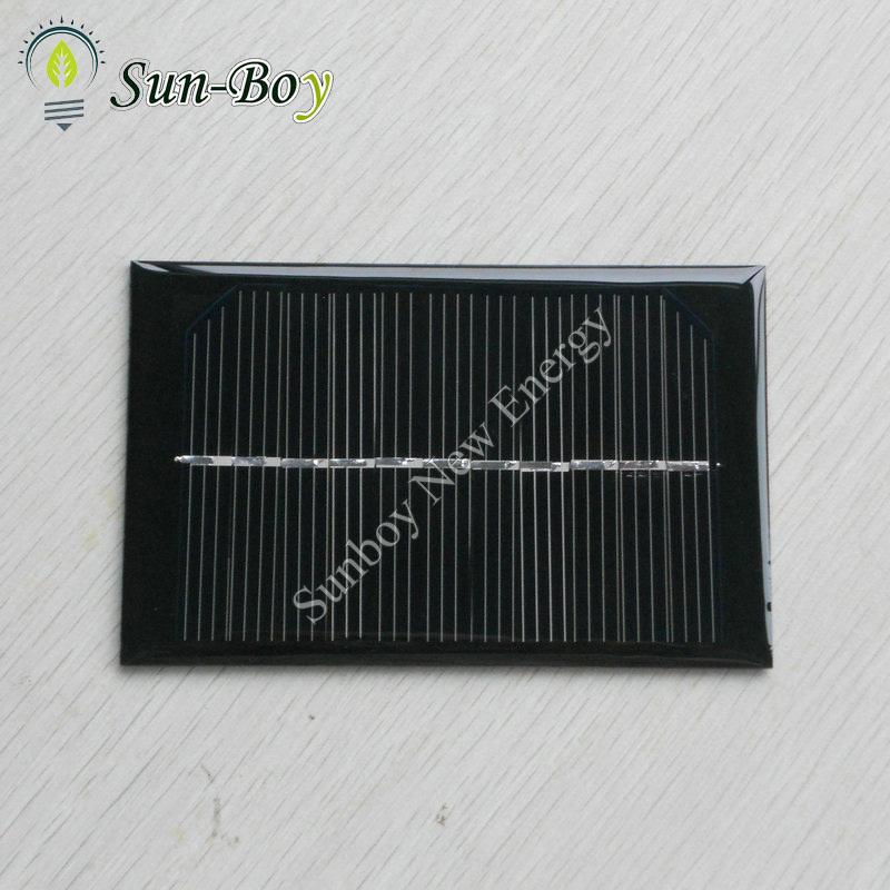 100pcs/lot 90*70mm 6V 125mA Epoxy Mini Solar Cell(China (Mainland))