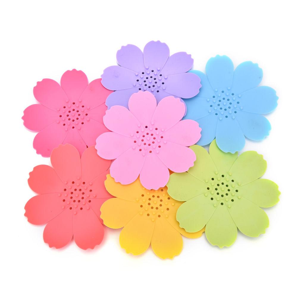Цветы мыльница