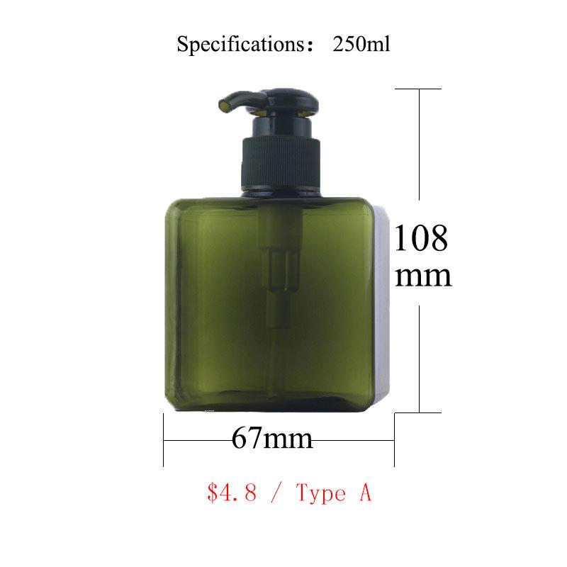 Empty storage cosmetic containers refillable bottles mini shampoo bins new hair sprayer emulsion atomizer perfume jars(China (Mainland))