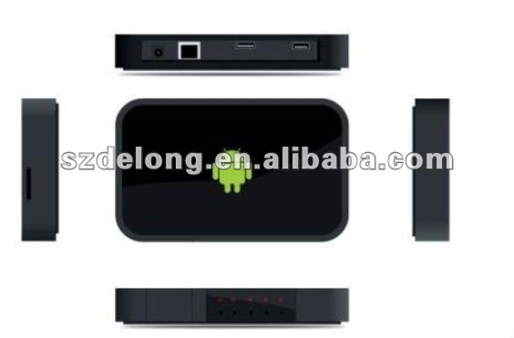 New product! Google IPTV box Android with TCC8801,HD Player,wifi/blutooth