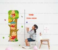 kid height measurement Lovely Window Handdrawing Decal Vinyl Wall Sticker PVC Decor Decoration LM2001