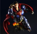 Play Arts Kai Super Man ARMOR NO 6 Superman DC Figure SuperGIRL Justice League PA 26cm