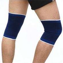 1 Kneelet Professional Sport Knee Protection Brace Leg Arthritis Support Injury Gym Sleeve Elasticated Bandage Pad Elastic 1pcs(China (Mainland))