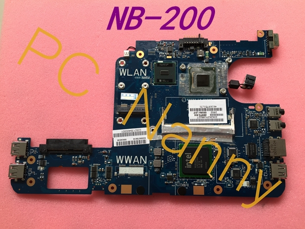 Original For Toshiba Mini NB205 NB210 K000078610 KAVAA LA-5121P Motherboard Atom N280 CPU DDR2 Intel GMA 950 Tested!(China (Mainland))