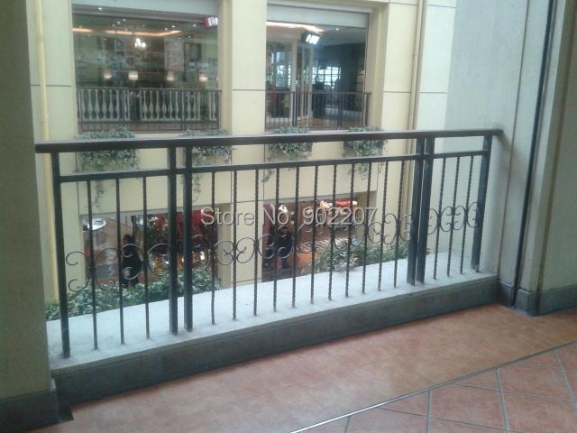 balcony outdoor custom deck railings porch railings stair railings handrails(China (Mainland))