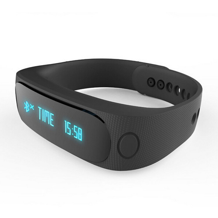 New E02 Smart Bluetooth Wrist Bracelet Band Smartband Sport Health Fitness Track Pedometer Phone Call Notify for Man Woman Lady(China (Mainland))